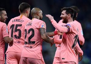 فیلم/ خلاصه دیدار اسپانیول 0-4 بارسلونا