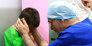 پزشکانی که لبخند خیرات میکنند +عکس
