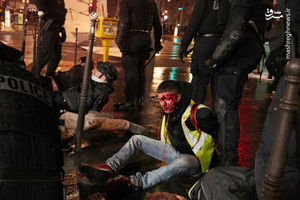 اعتراضات فرانسه چرا و چگونه به خشونت کشیده شد؟ + عکس