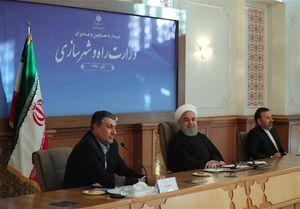 روحانی: بخش حمل و نقل دنیای بزرگی در شرایط تحریم است