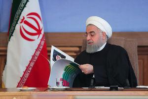 عکس/ دیدار روحانی با وزیر و مدیران وزارت راه