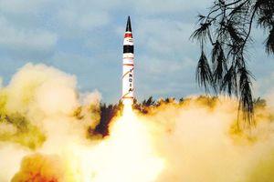 هند موشک بالستیک آزمایش کرد