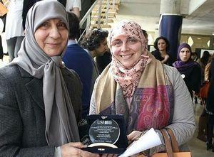 خواهر امام موسی صدر، پاسدار حقوق کودکان +عکس