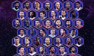 عکس/ نامزدهای حضور در تیم منتخب یوفا 2018