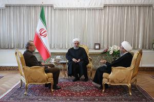 نشست مشترک سران قوا _ روحانی _ لاریجانی