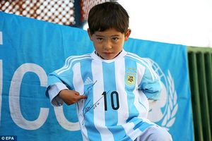 هوادار کودک افغانی مسی