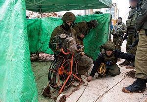فیلم/ استفاده از ربات برای جستجوی تونل های حزب الله