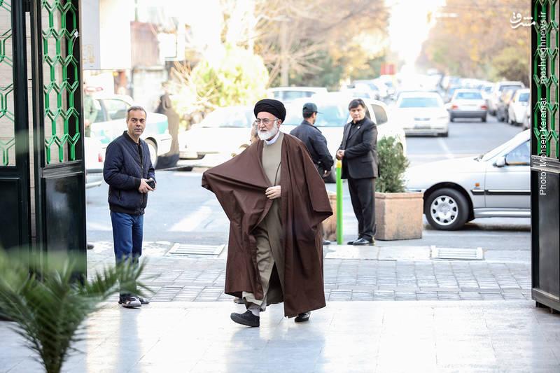 سید علی قاضی عسکر نماینده ولی فقیه در امور حج وزیارت و سرپرست حجاج ایرانی