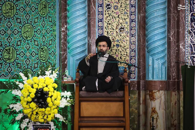 مراسم ترحیم والده حجت الاسلام سید علی شاهچراغی