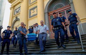 فیلم/ حمله مسلحانه به یک کلیسا در برزیل!