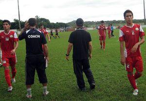 عکس/ مهاجم پرسپولیس در مسابقات دانش آموزی جهان