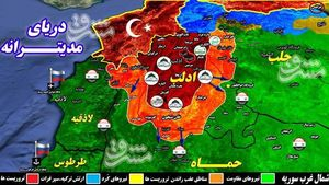 شکار بزرگ نیروهای ارتش سوریه در شمال استان حماه/ نقرهداغشدن تروریستها در ۵ شهرک راهبردی + نقشه میدانی