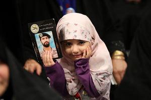 عکس/ میهمانان کوچک رهبر انقلاب