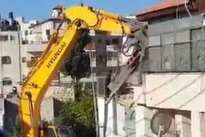 فیلم/ تخریب خانه فلسطینیان در بیت المقدس!