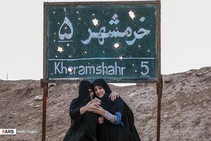 عکس/ اعزام کاروان دانش آموزان به مناطق عملیات جنوب