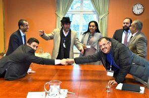 عکس/ مذاکرات صلح یمن در استکهلم سوئد