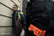 مقابله ۸ هزار پلیس با جلیقهزردها