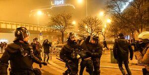 اعتراضات مجارستانیها توسط پلیس سرکوب شد +عکس