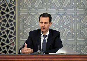 بشار اسد: غرب تلاش دارد با تحریم اراده ملتهای آزاده را در هم بشکند