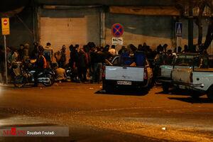همراهی با پلیس در یک شب پر ماجرا +عکس