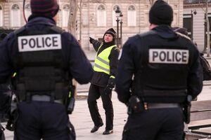 فیلم/ زد و خورد جلیقه زردها و پلیس فرانسه!