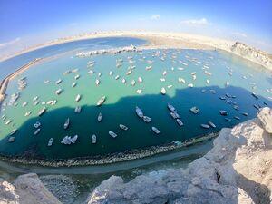 عکس/ بندری زیبا در سیستان و بلوچستان
