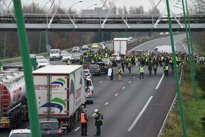عکس/ شورش در شهر تولز فرانسه