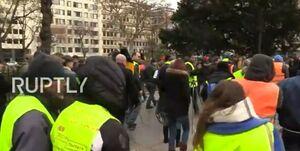 معترضان بلژیکی به خیابان آمدند