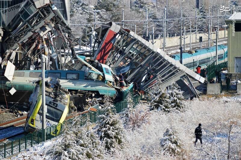 تصادف مرگبار دو قطار تندرو در آنکارا