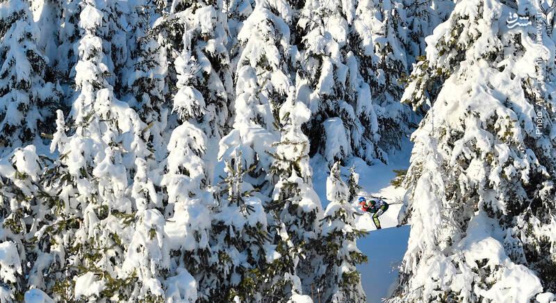 رقابت قهرمانی اسکی در پیست 10 کیلومتری اتریش