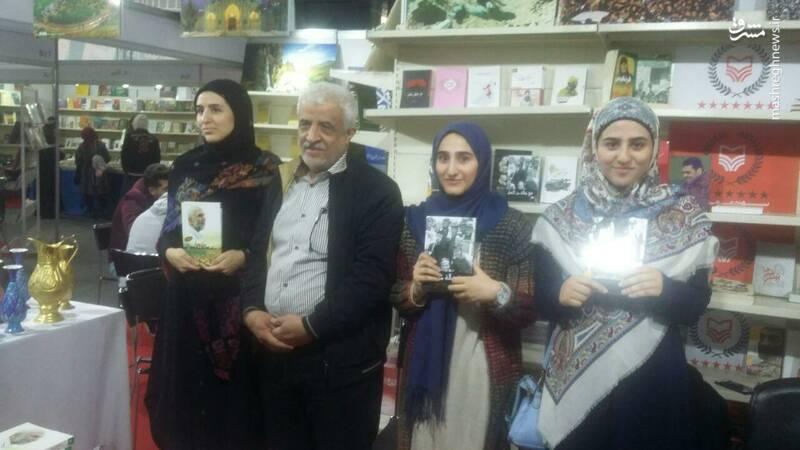 جشن امضای مجموعه ماه همراه بچه هاست توسط گلعلی بابایی در بیروت