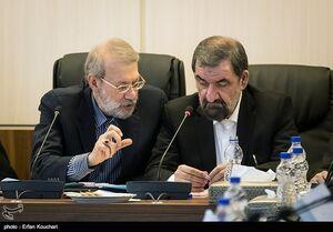 """نظر""""محسن رضایی"""" درباره ارجاع ۲ لایحه از سوی """"لاریجانی"""" به مجمع تشخیص"""