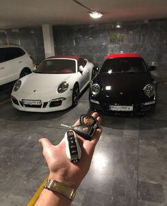 عکس/ پارکینگ یک بچه پولدار تهرانی!