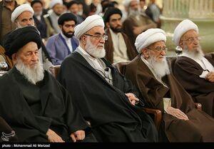 عکس/ جشن میلاد امام حسن عسکری با حضور مراجع تقلید