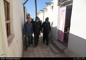 عکس/ خانهسازی سپاه در جزیره هرمز
