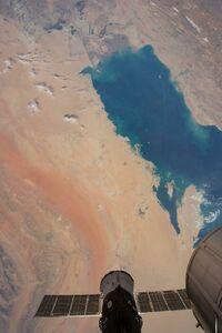 """عکس/ نمایی متفاوت از """"خلیج فارس """""""