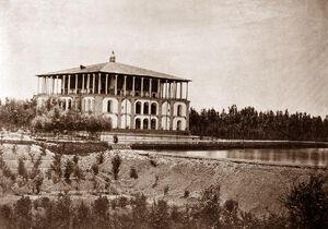 قدیمیترین عکس از خیابان پاسداران تهران