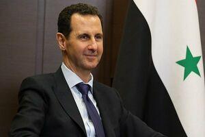 بشار اسد بدون محافظ در خیابانهای دمشق +فیلم