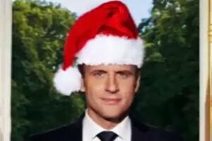 فیلم/ هدیه کریسمس ماکرون!