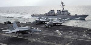 ناوگان دریایی آمریکا در مقابل روسیه و چین شکست خواهد خورد
