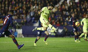 فیلم/ خلاصه دیدار بارسلونا 5-0 لوانته