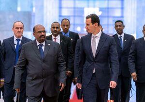 عکس/ دیدار رئیسجمهور سودان با بشار اسد
