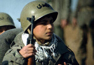 پیام بیسیمچی ۱۴ ساله به ملت ایران +فیلم