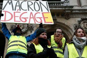 رسانههای فرانسه اعتراضات جلیقه زردها را سانسور میکنند