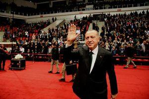 عکس/ اردوغان در مراسم بزرگداشت مولانا