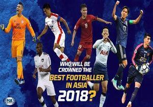 ۲ بازیکن ایرانی نامزد توپ طلا آسیا ۲۰۱۸