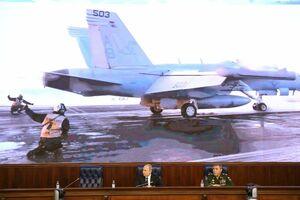 نشست فرماندهان وزارت دفاع روسیه با پوتین