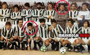 عکسهای کمیاب (۱۱۸)/ وقتی مورینیو و پدرش در یک تیم بودند!