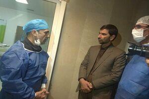 حضور تیم وزارت بهداشت بر بالین کودکان زاهدانی