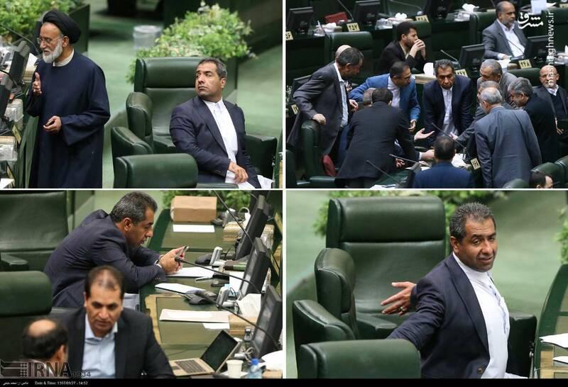 عکس/ نماینده جنجالی امروز در مجلس